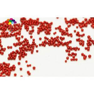 100000 pcs 12g Glass Light rose red Micro Beads small No Hole 0.6-0.8mm Nail Art