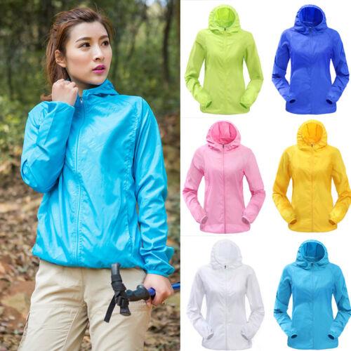 Unisex Waterproof Windproof Jacket Lightweight sun-protective Sport clothing