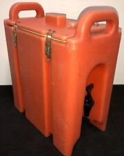 Cambro Orange Insulated Beverage Carrier 250lcd 25 Gallon Capacity Our 3