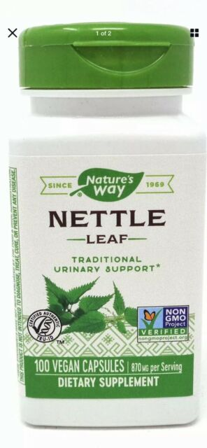 Nature's Way Nettle Herb, Capsules, 100 capsules Fast Shipping