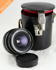 Pentacon 30mm f/3.5 S/n 9771446 M42 WIDE ANGLE lens. RARE Made in Germany GDR