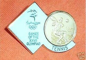 GILT-2000-OLYMPIC-SPORTS-BADGE-TENNIS