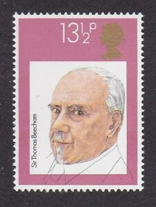 Details about 1980 GB Sir Thomas Beecham 13 5p MNH Stamp - British  Conductors