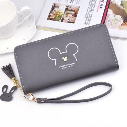 Lady Women Clutch Wallet Zipper Wrist Strap Purse Bag Phone Card Holder Handbag