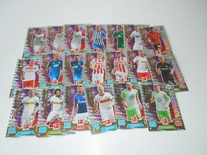 Topps-Match-Attax-2017-2018-17-18-Bundesliga-20-Matchwinner-Lot-NEU