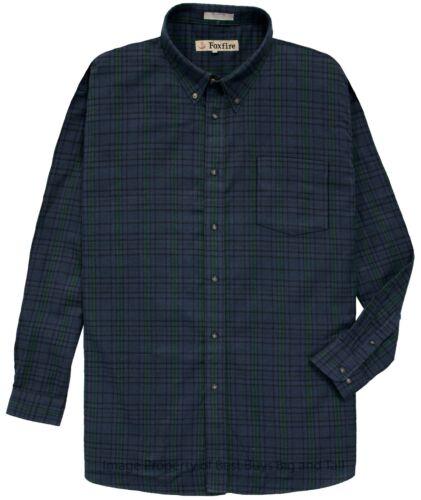6XLT 6XL 2XLT Foxfire Big /& Tall Men/'s 100/% Cotton Flannel Plaid Shirt 2XL