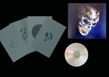 Airbrush Schablonen / Stencil / Step By Step 0646 Tattoo Skull mit  Anleitung