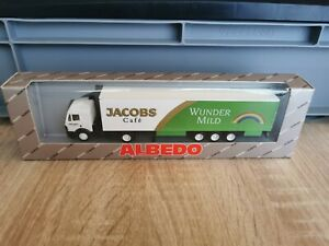 k20-Herpa-albedo-camions-h0-1-87-Mo-Jacobs-cafe-Miracle-Mild-neuf-dans-sa-boite