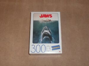 New Cardinal Blockbuster Jaws 300 Piece Puzzle 18in x 24in