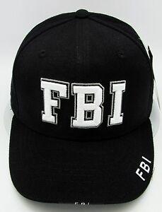 Rapid Dominance FBI Ball Cap Hat US Law Enforcement 3DEmbroidered ... b4348a8dc23