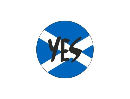 sticker flag tuning decal car scottish independence vote  SCOTLAND YES
