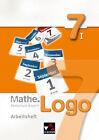Mathe.Logo 7/I Realschule Bayern Arbeitsheft von Dagmar Beyer und Matthias Ludwig (2013, Geheftet)