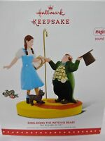 Ding Dong The Witch Is Dead Hallmark 2015 Wizard Of Oz Ornament
