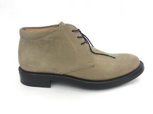 Dettagli su TESTONI scarpe shoes n. 39 uomo beige man TESM91