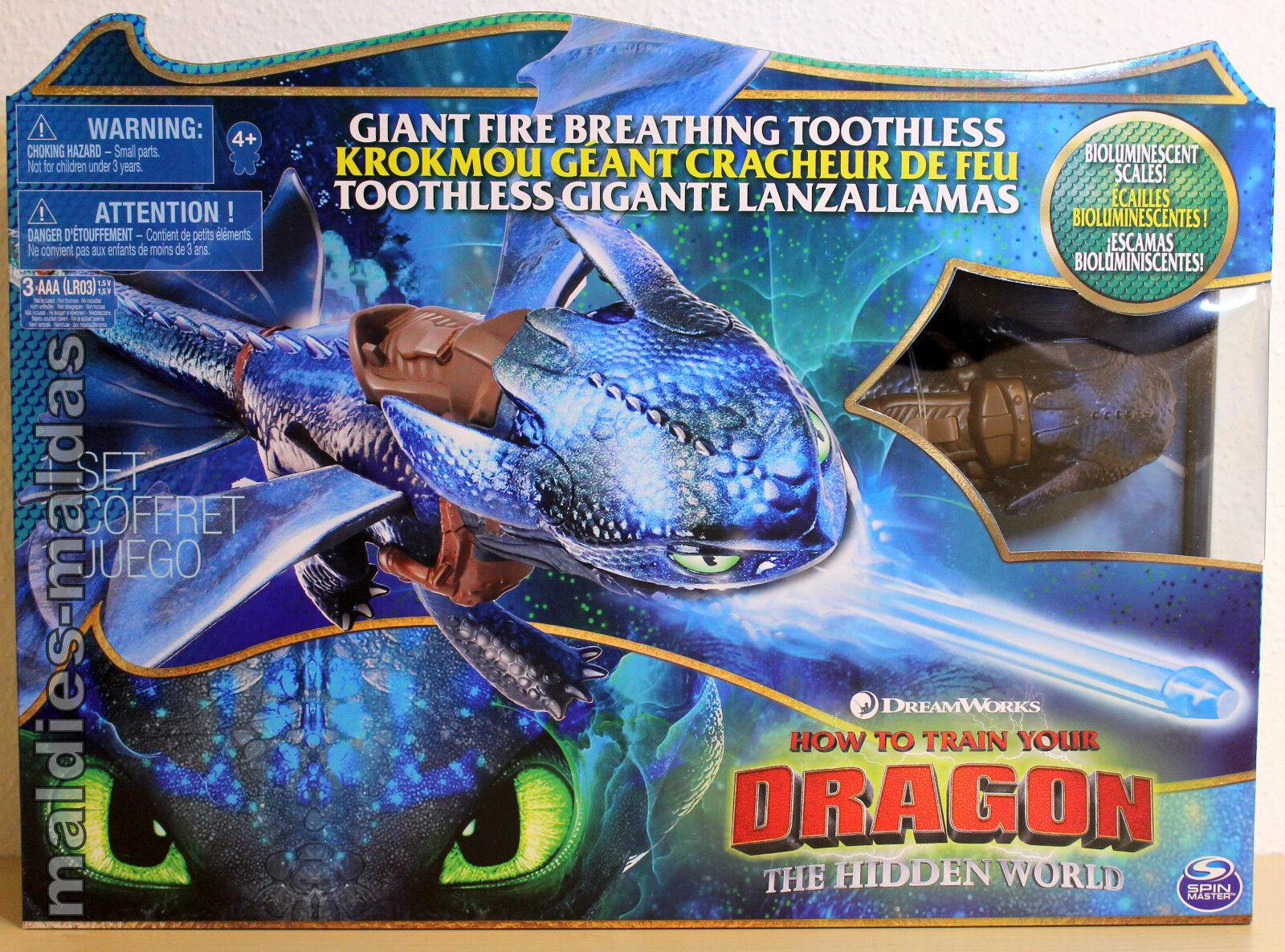 3 Dragons Mondo segreta fuoco speiender senza dente 20104770 Nuovo Scatola Originale
