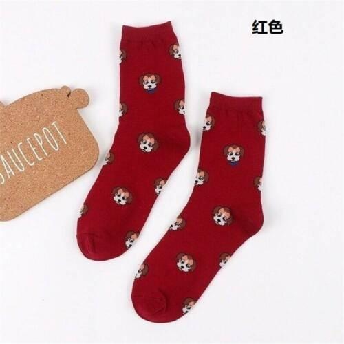 Adult Animal Feet Socks Claw Hoof Paw Crew Socks Sublimated Print Hosiery Xmas