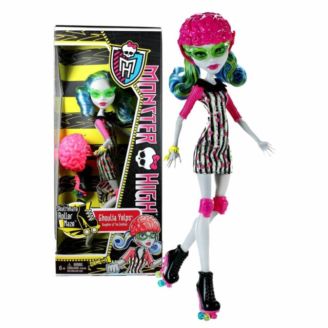 mattel x3675 monster high roller maze ghoulia yelps doll ebay