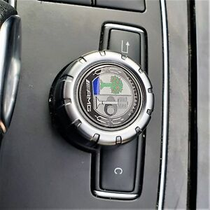 AMG-Affalterbach-Badge-Mercedes-Multimedia-Control-Knob-Emblem-COLOUR-Sticker