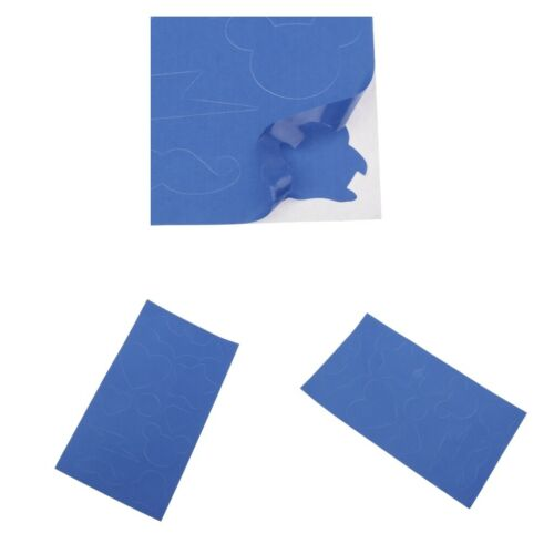 2pcs Self-adhesive Repair Patch Washable Mending Kit for Down Jacket Blue
