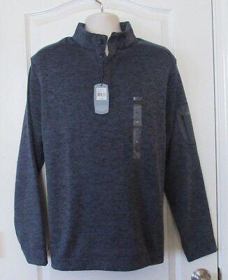 Greg Norman Long Sleeve Fleece Lined Pullover ALmond Men/'s Sz L NWT MSRP$79