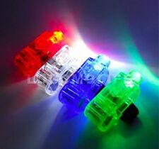 100 PCS *WHOLESALE* FINGER LIGHT UP RING LASER New RAVE PARTY FAVORS GLOW BEAMS