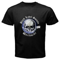 New BLS Black Label Society Hard Metal Rock Band Men's Black T-Shirt Size S-3XL