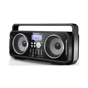 GroßZüGig Groov-e Gvsp480 Rechargeable Fm/usb/sd Mp3 Bluetooth Music System Usb Charging SorgfäLtige FäRbeprozesse Audio-docks & Mini-lautsprecher Tragbare Geräte & Kopfhörer