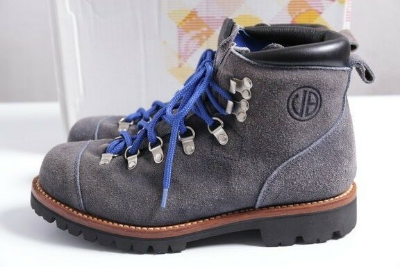 A BATHING APE URSUS BAPE Suede Leather Mountain Boots US 8