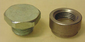 Raceworks-Steel-Oxygen-Sensor-Bung-amp-Plug-for-Holden-Mazda-Subaru-Nissan-Ford-VW
