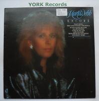 MARTI WEBB - Encore - Excellent Condition LP Record Starblend BLEND 1