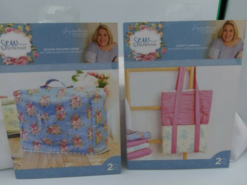 Sewing Machine Cover or Crafty Carryall Bag Pattern and Instruction Pack by  Cra
