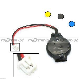 CMOS Batterie/battery BIOS cr2032 avec connecteur 2 broches pour pc eastcell