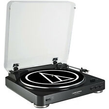Audio-Technica AT-LP60BK-USB Fully Automatic Belt-Drive Stereo Turntable