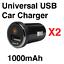 Cygnett-PowerMini-Ultra-Compact-USB-Car-Charger-for-iPhone-Huawei-Nokia-Samsung miniatuur 3
