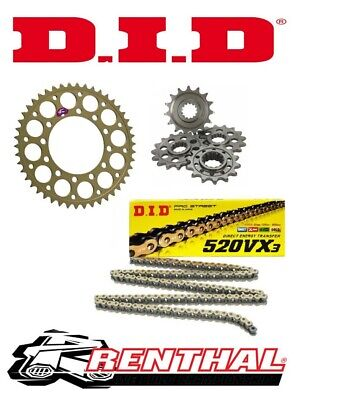 D.I.D Heavy Duty Chain and Sprocket Kit for ER-6N 2006-2016