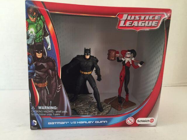 Schleich Batman vs. Harley Quinn Scenery Pack! Suicide Squad! Justice League!