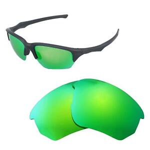 bc9db24e1a5 Image is loading Walleva-Polarized-Emerald-Replacement-Lenses-For-Oakley -Flak-