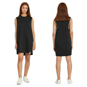 on sale beauty big sale Details zu adidas Originals Womens XbyO Long Tank Top Casual Sleeveless  T-Shirt Dress Black
