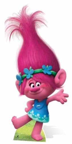 Trolls Poppy Mini Cardboard Cut out Party Decoration Centrepiece ...