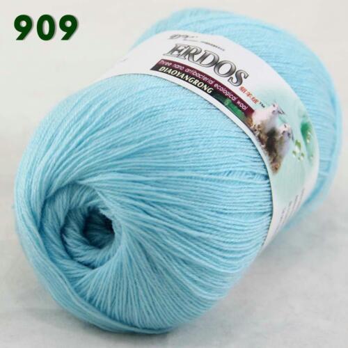 1ball x 50gr Soft Crochet Acrylic Wool Cashmere Hand Knitting Yarn Knitwear 09