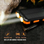 thumbnail 10 - 2021 Super 900000mAh 2 USB Portable fast Charger Solar Power Bank for Cell Phone
