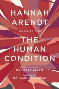 The-Human-Condition-Second-Edition-by-Hannah-Arendt-9780226586601-Brand-New