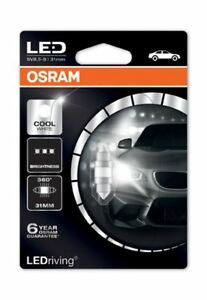 Osram-LED-C5W-269-31mm-Festoon-Bombilla-Interior-Blanco-Fresco-6000K-6497CW-01B-solo