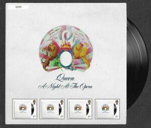 Queen-2020-A-Night-at-the-Opera-Freddie-Mercury-Fan-sheet-mnh-Great-Britain