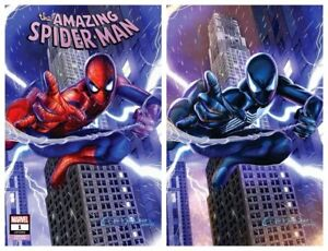 AMAZING-SPIDER-MAN-1-GREG-HORN-TRADE-DRESS-VIRGIN-VARIANT-SET-LTD-1000-SETS-NM