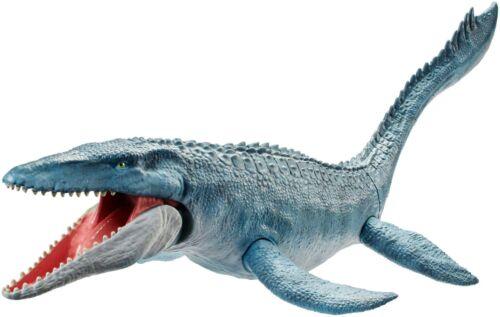 Mattel FNG24-Jurassic World vera pelle di Dinosauro MOSASAURUS