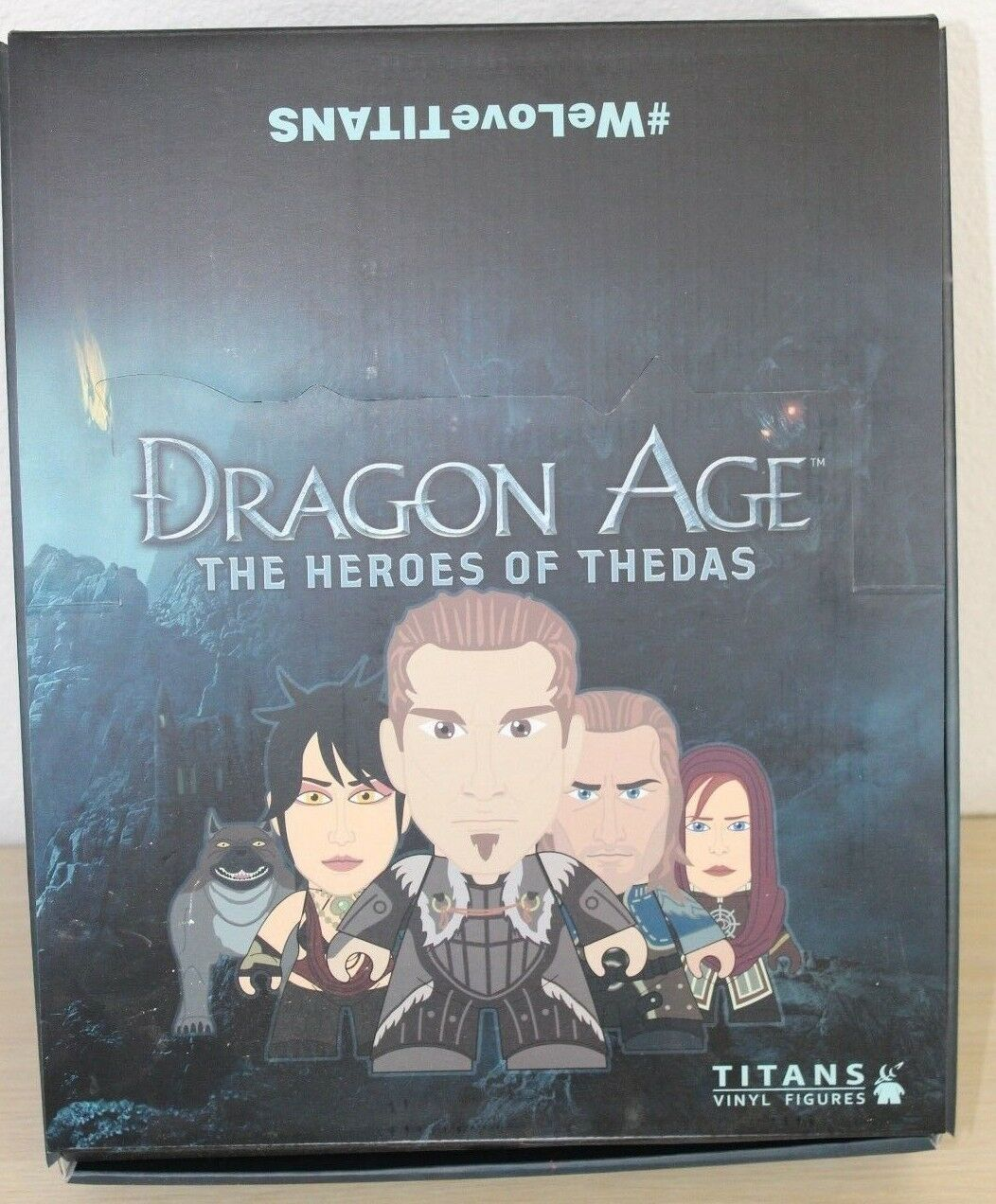 Dragon Age Heroes of Thedas Titans Titan Vinyl Display Blind Box Case of 20