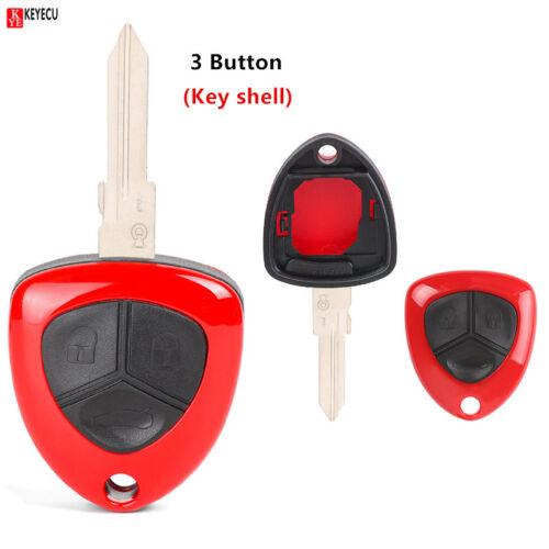 Uncut 1 Button Replacement Remote Key Shell Case Fob for Ferrari F430 2005-2009