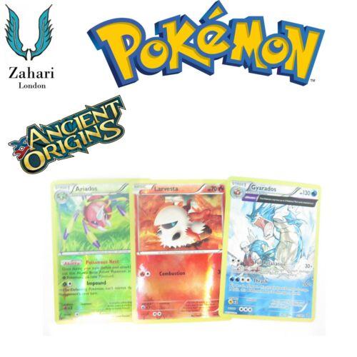 Common Trainer Pokemon Single Cards! Un XY Ancient Origins Reverse Holo Rare