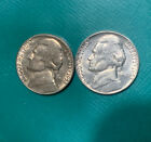 2-COINS 1955 P&D Jefferson nickels Hi Grade UNCIRCULATED Philly Is Very Low Min